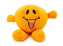 Orange Plush Toy