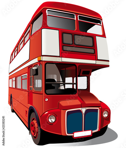 Photographie Red double-decker bus