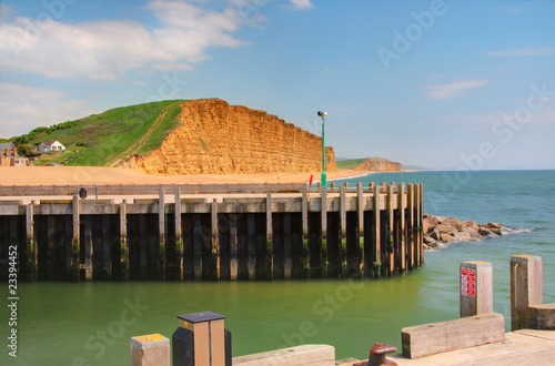 Photo  West Bay, Dorset - part of the Jurassic World Heritage Site