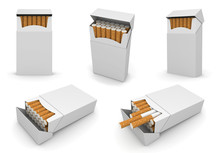 5 Packs Of Cigarettes 6000px T...
