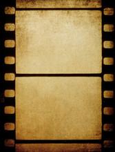 Grunge Vintage 35 Mm Film.