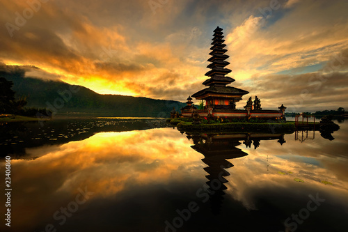 Photo sur Toile Bali Pura Ulun Danu Bratan Water Temple