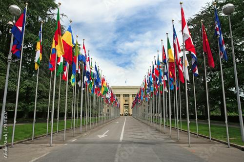 Fotografie, Obraz  United Nations in Geneva