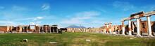 Pompeii Ruins Panorama