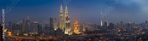 Photo Stands Kuala Lumpur panorama, kuala lumpur