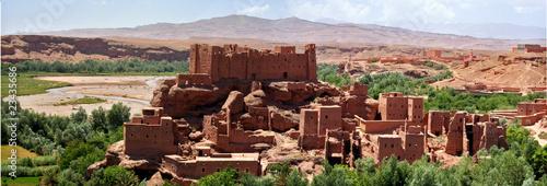 Foto op Aluminium Marokko kasbah maroc dades