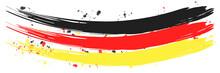 Deutschlandfahne - Abstrakt