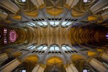 Interior Of Cathedral Notre Da...