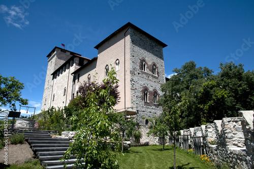 Rocca Borromea - Angera Fototapet