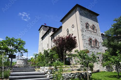 Fotografering  Rocca Borromeo - Angera