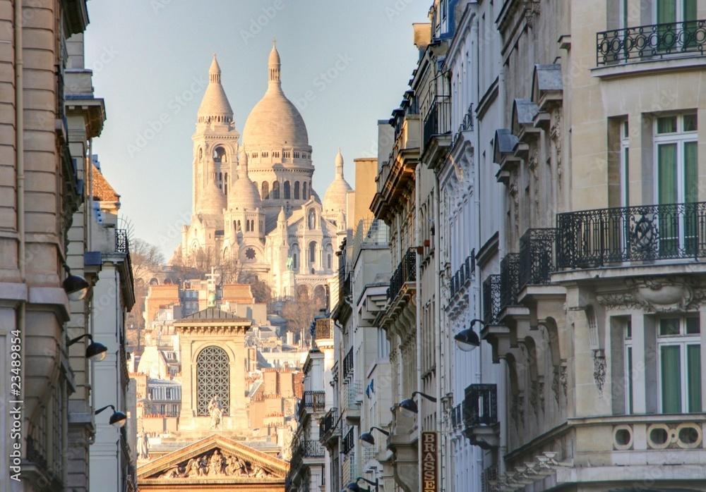 Fototapety, obrazy: rue de paris