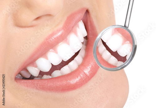 Stampa su Tela healthy teeth