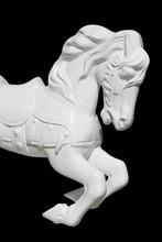 Running Whtie Horse