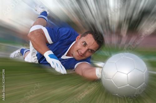 Photo  Goalkeeper Save