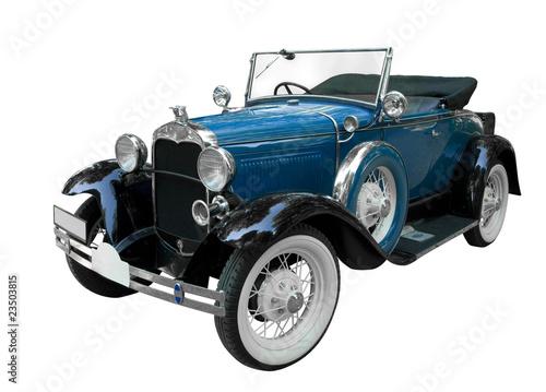 Photo sur Aluminium Vintage voitures Schöner Oldtimer