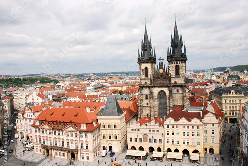Fototapety, obrazy: Old Town Square in Prague