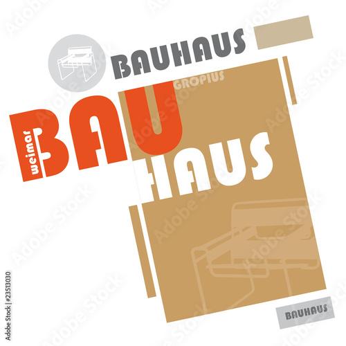 Valokuva  Bauhaus Logo