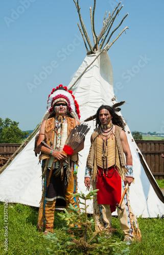 Garden Poster Fairytale World North American Indian
