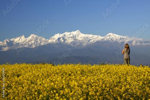 Photo Bandipur views of Annapurna range