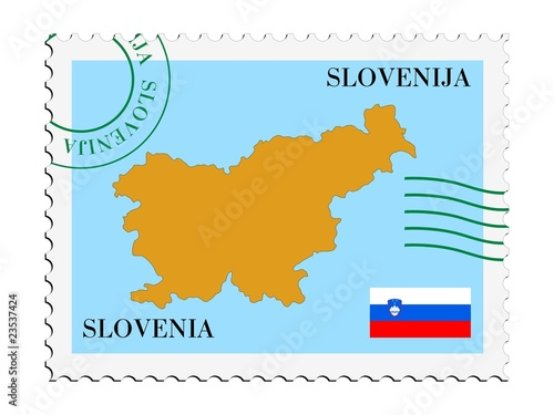 mail to/from Slovenia Canvas Print