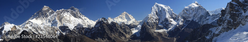 Wall Murals Nepal Mount Everest Panorama
