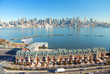HUDSON RIVER, NEW YORK CITY PANORAMA
