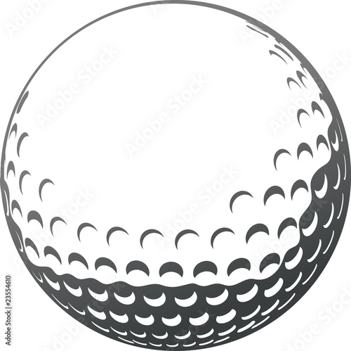 Golf ball Fototapet