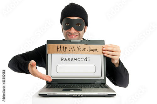 Cuadros en Lienzo  Password thief (phishing)