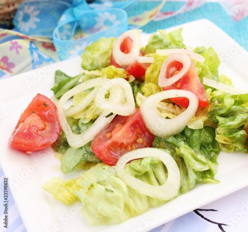 Fototapety, obrazy: Gemischter Salat