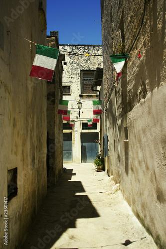 Fotografie, Obraz  italian flags