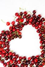 Fresh Red Cherries.