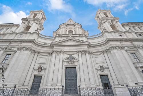 Valokuva  Roma, piazza Navona, chiesa di S. Agnese in Agone