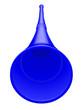 canvas print picture - Vuvuzela bleue