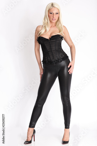 official photos 5b0d7 edb58 Heisse Blondine in Leggins - Buy this stock photo and ...