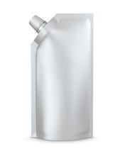 White Blank Spout Pouch, Bag F...