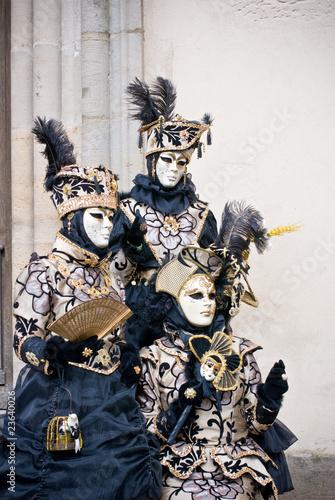 Staande foto Schilderingen Carnaval Vénitien de Remiremont