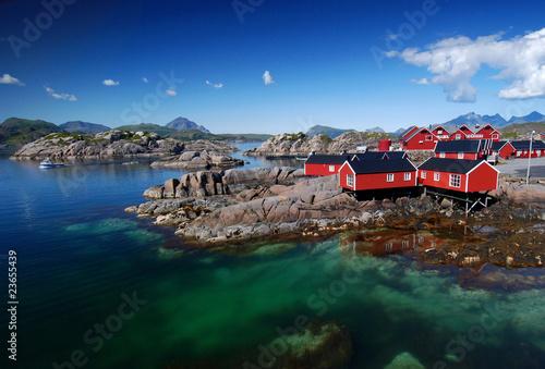 Staande foto Scandinavië Lofoten