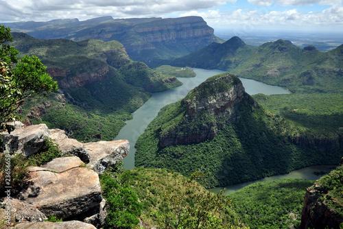La pose en embrasure Afrique du Sud South Africa - Drakensberg