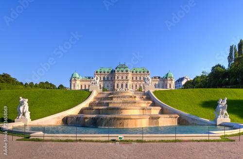 Schlosspark Belvedere Wien Österreich Wallpaper Mural