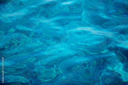 Papiers peints Recifs coralliens Blue ripples pool water background