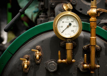 Vintage Steam Engine Pressure ...