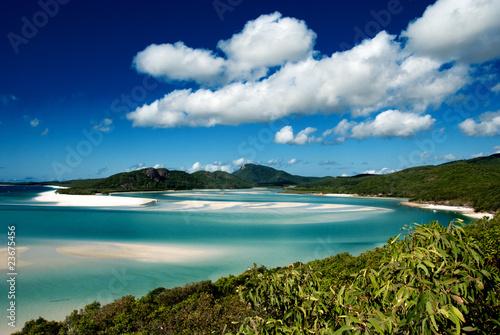 Foto-Leinwand - Whitehaven Beach, Australia