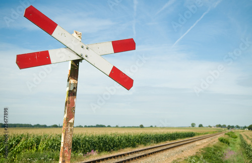 Photo Railway Sign