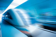 train motion blur