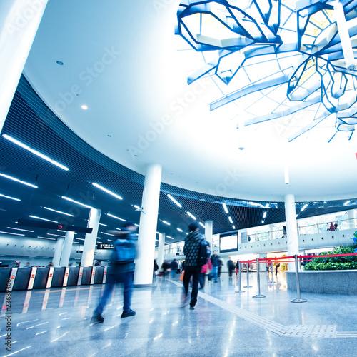 Poster Aeroport passenger