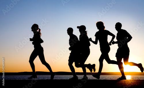 Foto op Canvas Jogging jogging