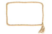 Frame Made From Rope
