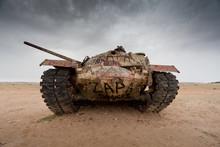 Abandoned Military Tank