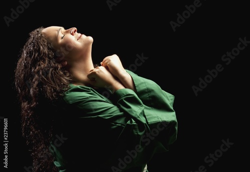 Fotografia  Woman Depicting Mary Of Bethany