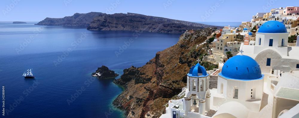 Fototapeta Santorini